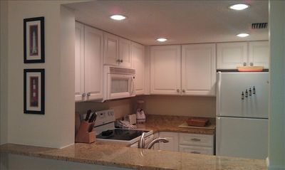Lovely NEW Kitchen with Granite, NEW Cabinets & Appliances ~ open to living area