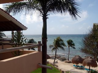 Puerto Aventuras condo photo - North side of our beach - the best site to snorkel