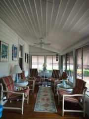 Virginia Beach cottage photo - Fabulous Sun Porch...room for the entire family!