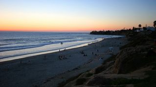 Pacific Beach condo photo - Take a walk on this lovely beach at the end of Law