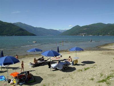 Luino condo rental - The residence is located near the beach