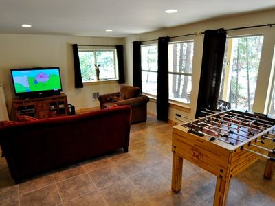 Bonus Room on the basement floor!