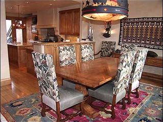 Snowmass Village house photo - Dining area with seating for 8