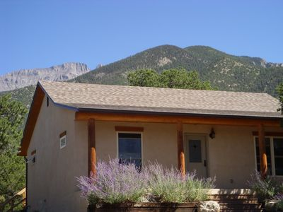 Cozy Private Crestone Retreat House on 2.5 Acres in Pinyon Pines. Pet-Friendly!