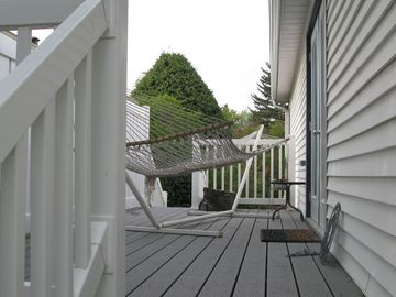 private side deck