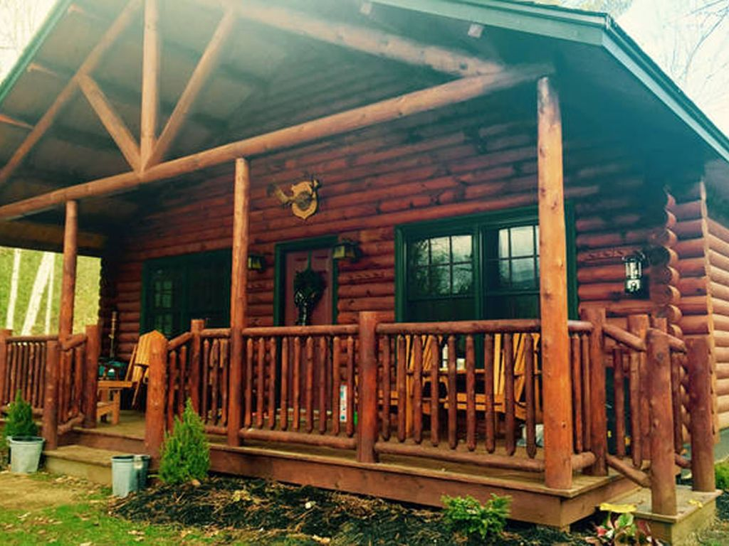 Your adirondack log cabin retreat vrbo for Log cabin retreat