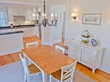 Dining Room Opens To Gourmet Kitchen For Easy Entertaining