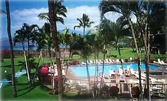 Kihei condo rental - Maui Sunset Pool and Grounds, Activity Desk for booking your activities on Maui