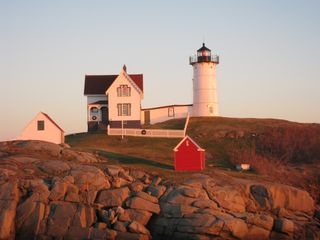 York Beach house photo - The Famous Nubble Lighthouse