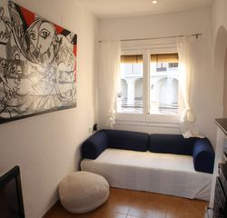 Sitges Town apartment photo - Apt3-LIGHTHOUSE: Living