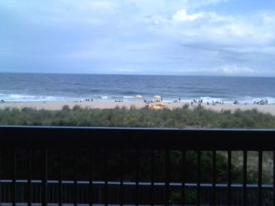 Century I Ocean City condo rental - View from deck