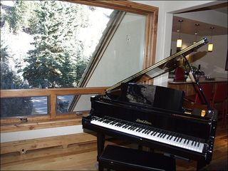 Beaver Creek house photo - Another Stunning Feature - A Grand Piano in the Living Room