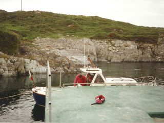 Mizen Head bungalow photo - For the nautically inclined the pier provides access to the water