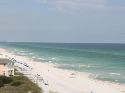 Carillon Beach condo rental - View from Master Bedroom
