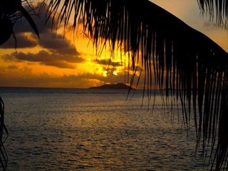 St. Croix condo photo - Beautiful Caribbean Sunrise from the Gallery