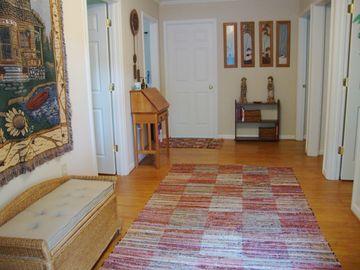 Welcome! Upper level entry, 3 bedrooms, laundry/sitting room and full bath.