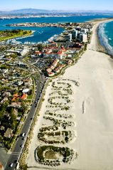 Coronado condo photo - Aerial View of Coronado Beach in Coronado Califonia