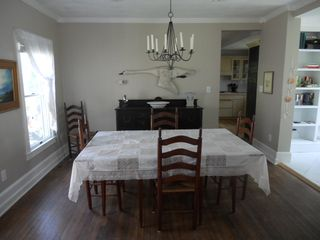 Cape Charles house photo - Dining room - house includes dining room chairs for 8