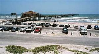 Bob Hall fishing pier +paved beach parking area. Distance from condo ~1.5 miles - Corpus Christi condo vacation rental photo
