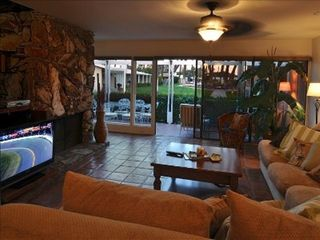 Rancho Mirage house photo - Spacious living room with a 48 HD Sony Flatscreen.