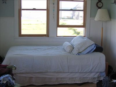 Mattapoisett cottage rental - Extra bed in Master Bedroom