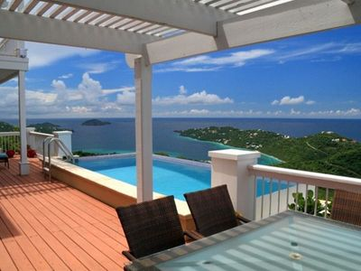 Relax on the spacious deck and gaze at the endless views, all 220 degrees!