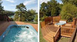 Huddleston estate photo - Additional living space on the spacious hot tub deck
