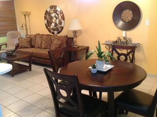 Fajardo condo rental - Living room and Dining