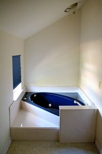 master bath Jacuzzi with view of the Intercoastal Waterway