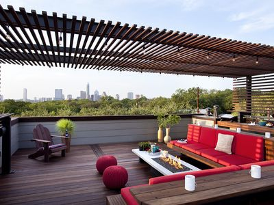 Amazing Rooftop Patio with Spectacular Views