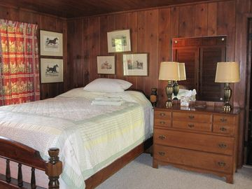 """Grandpa's"" room - one of eight bedrooms."