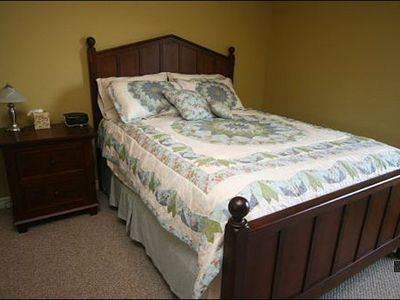 Stowe house rental - Third Bedroom Includes a Queen Bed