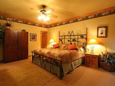 Hiawassee estate rental - Main Floor Bedroom - Handicap OK