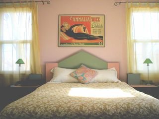 Sag Harbor house photo - Bedroom with queen bed (upstairs)