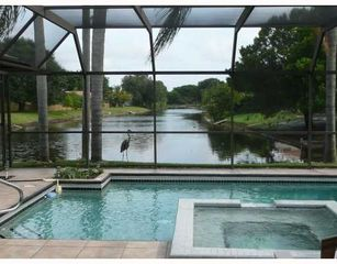 Bradenton house photo - View from the lanai. Herons and egrets visit