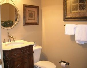 Mediterranea condo photo - Guest Half Bath
