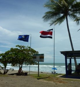 Esterillos Oeste is one of the few beaches to earn the ecological blue flag.