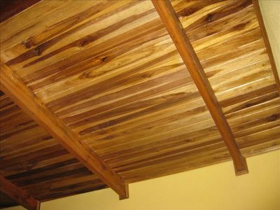 Local hardwoods are used throughout the casita.