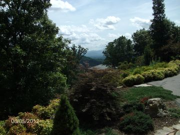Asheville house rental - View from front porch.