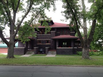 Jefferson house rental - Street view of the J.B. McHose House with the East Unit to the right