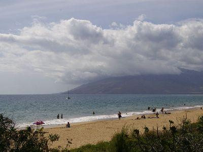 Enjoy your beach, Kamaole 1 along with boogie boards, beach toys,  & chairs.