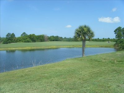 Lake and golf course at rear of property