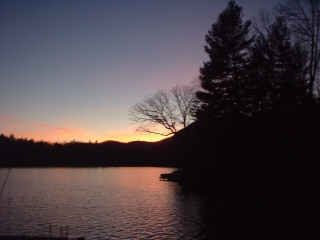 Lake Toxaway cottage photo - Sunset