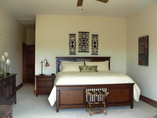 Sapphire house photo - Main level master suite with view of mountains of North Carolina.