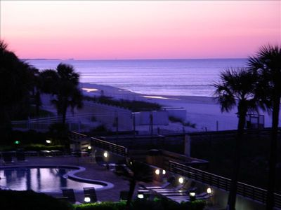 Sunrise view off SunDestin 304 balcony