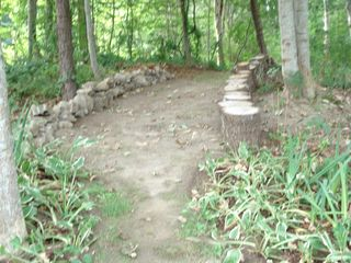 Yarmouth townhome photo - Path into Woods