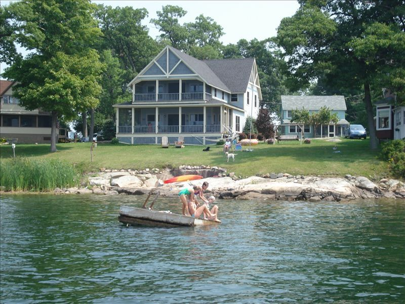 Luxury Waterfront Home Thousand Island Park Vrbo