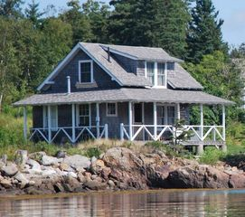 Port Clyde house photo - The Little Boat House. This tends to be a favorite place for teens to sleep.