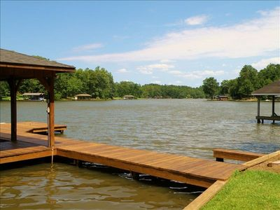 Dock and view of the lake