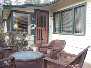 Prescott house photo - Enjoy coffee or Happy Hour on the front patio